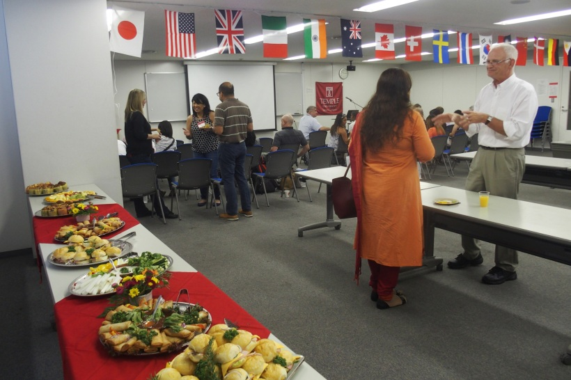 Family Welcome Reception (8/21)
