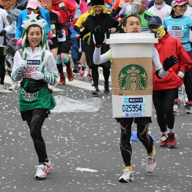 Geo Otsu, External Relations, Dean's Office: Starbucks Coffee Cosplay